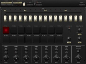 iMS 20 pattern sequencing 300x225 Korg iMS 20 analog synth   music app review