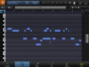 bm2 piano roll 300x225 Beatmaker 2 by Intua – music app review