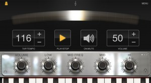 ilectric metronome 300x165 iLectric Piano by IK Multimedia – music app review