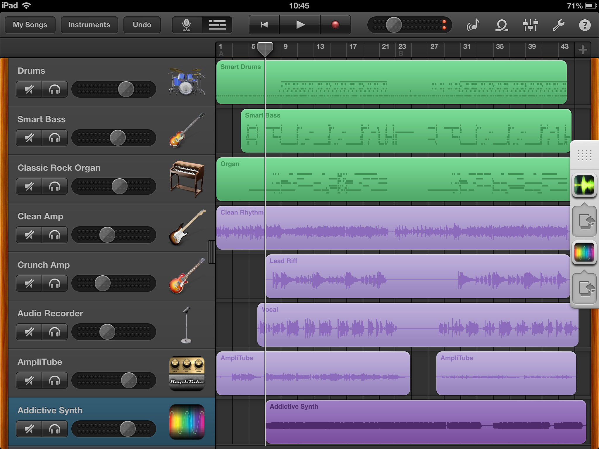 Review Garageband Ipad Garageband With Audiobus Tracks