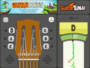 A rather cartoony look - but a very useable tuner.