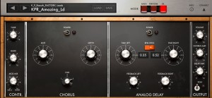 imini effects 300x139 Music app review   iMini by Arturia