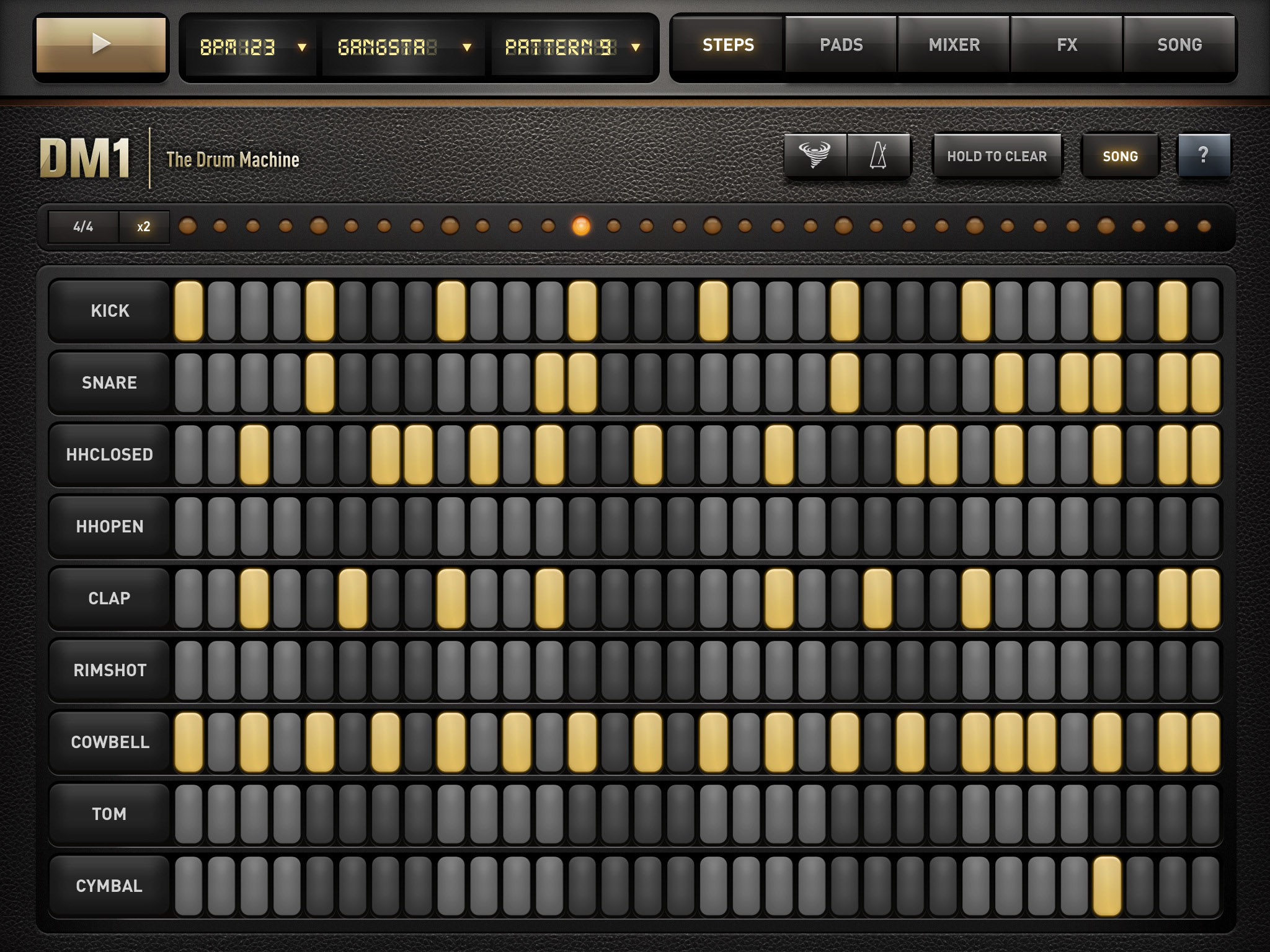heavy metal drum machine