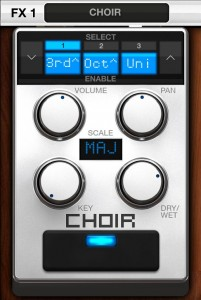 vocalive choir 201x300 VocaLive music app review – iOS multi effects for vocalists from IK Multimedia