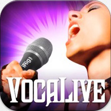 vocalive logo VocaLive music app review – iOS multi effects for vocalists from IK Multimedia