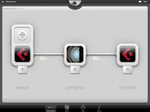 cubasis in audiobus twice with audio reverb 300x225 DIY send effects the Cubasis way   using Cubasis, Audiobus and iOS effects apps to create DIY send effects