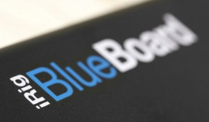 blueboard close up label
