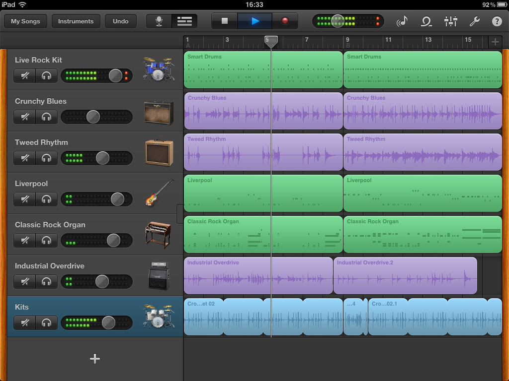 garageband project iOS DAW roundup   which recording app should you choose?