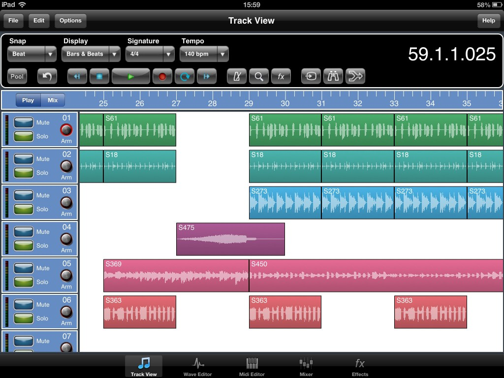 meteor track view 1024x768 iOS DAW roundup   which recording app should you choose?