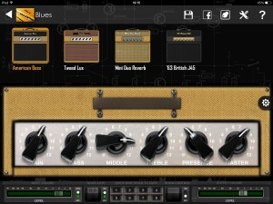 bias blues amps 300x225 BIAS review – Positive Grid move iOS amp creation and modelling to a new level
