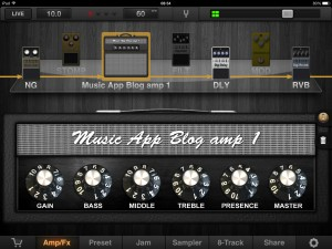 My first BIAS custom amp design ported over to JamUp Pro XT - how cool is that?