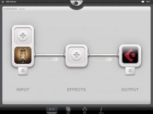 bias in audiobus 300x225 BIAS review – Positive Grid move iOS amp creation and modelling to a new level