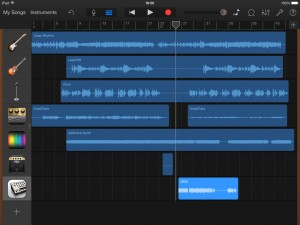 garageband isem via iaa 300x225 Why choose iOS for music making?   iOS Music Making: A Beginner's Guide