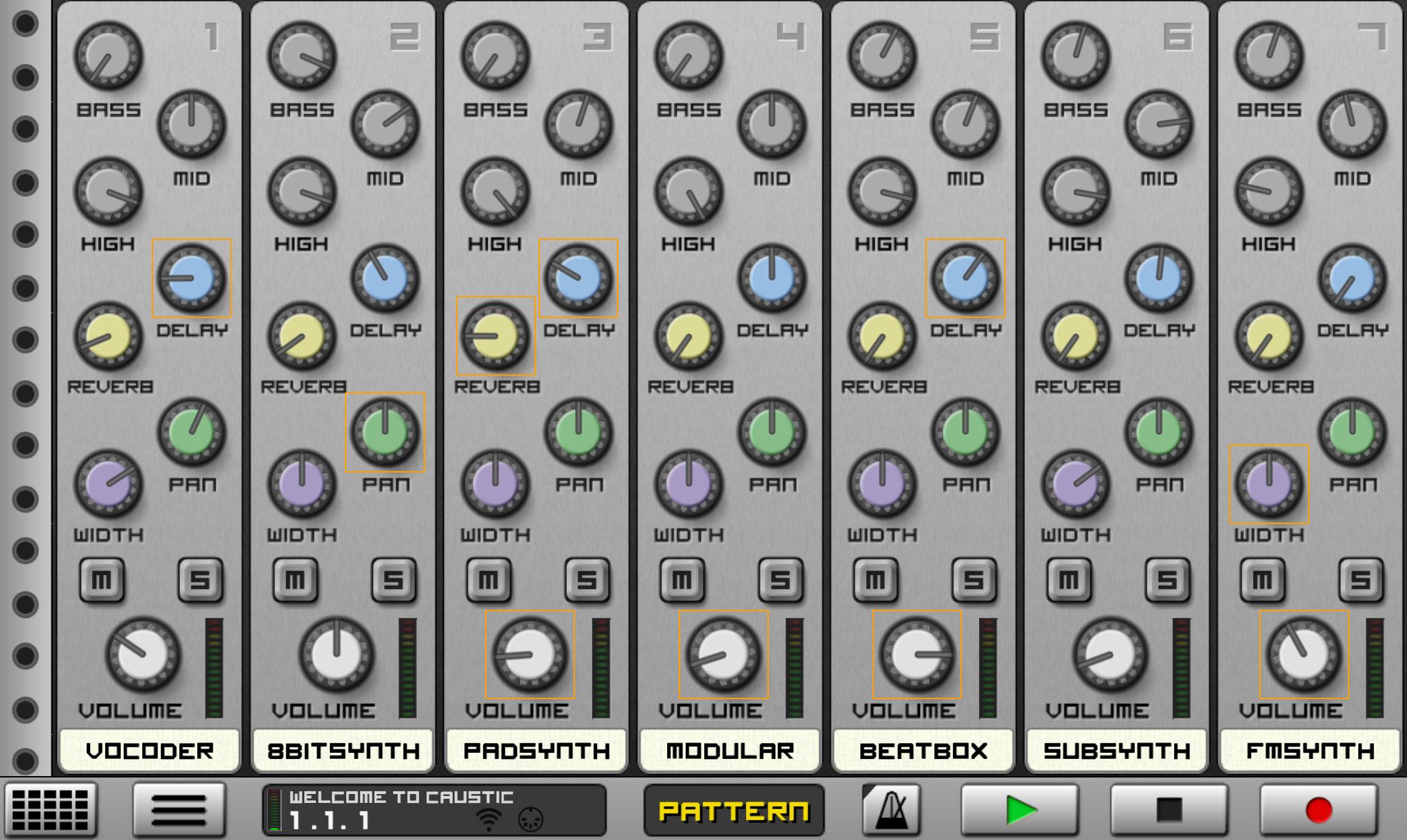 Virtual Mixer Software Caustic Mixer Device