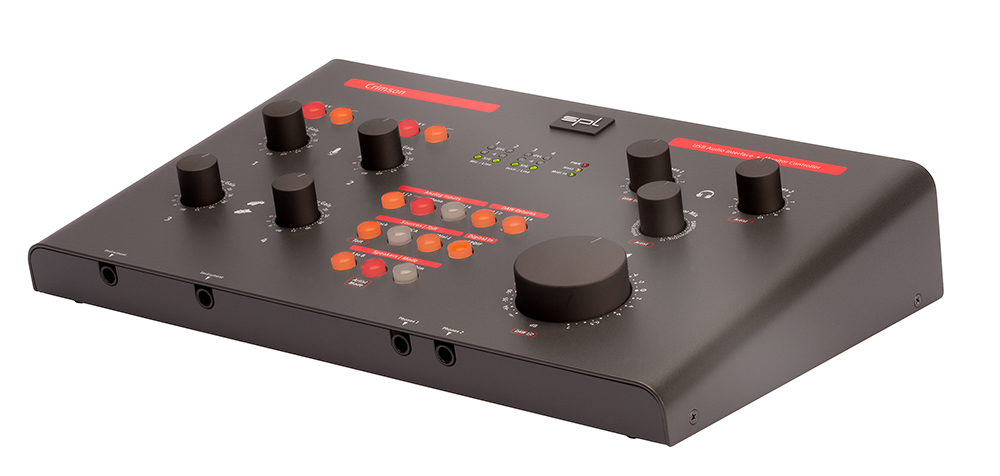 The SPL Crimson -  compact(ish) audio/MIDI interface with plenty of features - and including support for iOS.