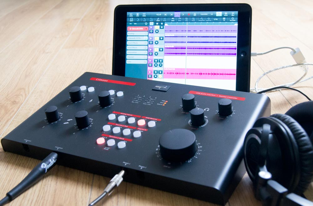 spl crimson 2 SPL Crimson review – well specified desktop audio/MIDI interface that also works with iOS
