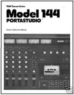 Teac Potastudio 144 manual Building an iPad recording studio; Part 1 – The evolution of the home recording studio